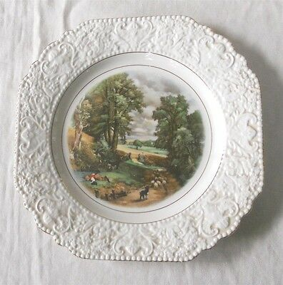 """Lord Nelson Ware China Plate Constable The Cornfield 8.5"""""""