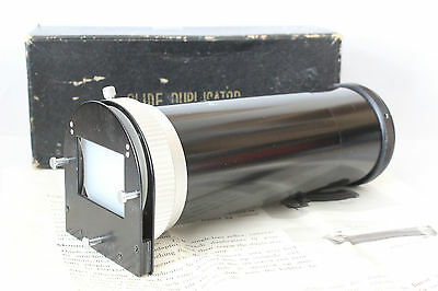 PAL Slide Duplicator Boxed With Instructions M42 (42mm thread) For SLR Camera