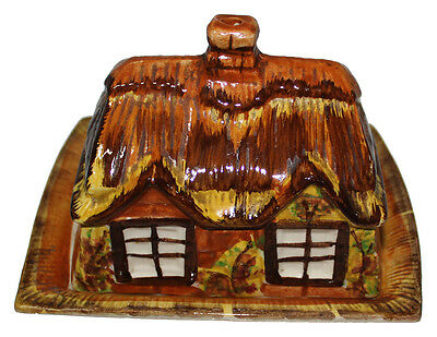 Price Bros Cottage Ware Lidded Cheese / Butter Dish