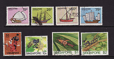 Singapore Used Odds And Ends As Scanned