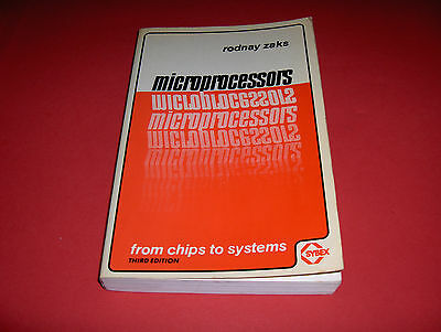 1980 Buch From Chips To Systems: Microprocessor Mikroprozessoren Operation Etc