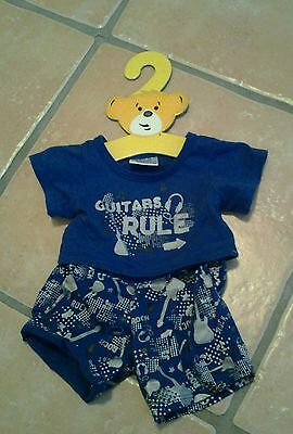 Build a bear clothes  tee shirt and shorts /trousers