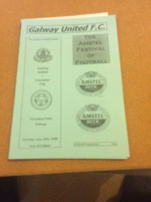 1998 Friendly Galway United v Leicester City 26/7/98
