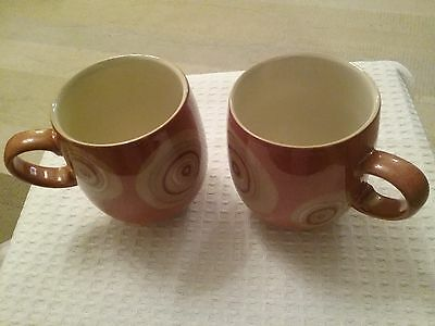 Denby Large Curved 'Chilli' Mugs (2 in total)