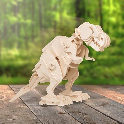 Build Your Own 3D WALKING Dinosaur T-REX Educational TOY Kit