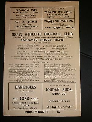 Grays  Athletic   V   Maidstone  United   31-12-1955