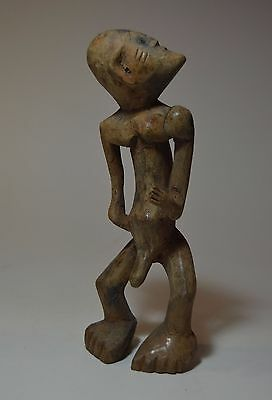 Rare Old Nyamwezi Articulated sculpture with head off axis, African Tribal Art