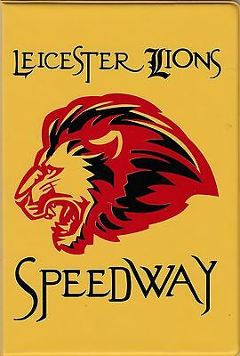 Leicester  Lions  Speedway  Programme   Board