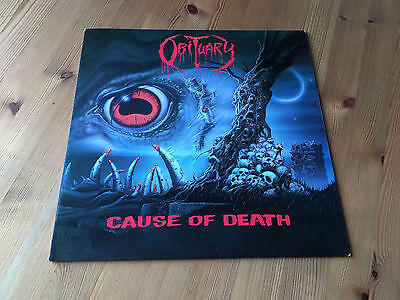 OBITUARY - Cause Of Death LP 1990