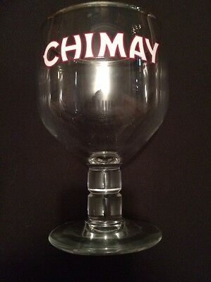 Brand New Chimay Stemmed Beer Glass
