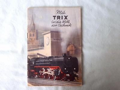 Trix Express Original German Catalogue from 1938-39 in Good Condition