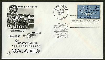 #1185 4c Naval Aviation, Art Craft FDC **ANY 4=FREE SHIPPING**