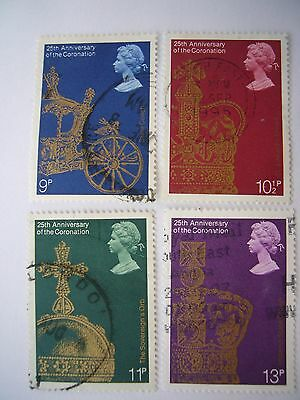 25th Anniversary of Coronation  fine used set from 1978
