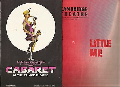 "Collection Of Ten ""musicals"" Theatre Programmes"