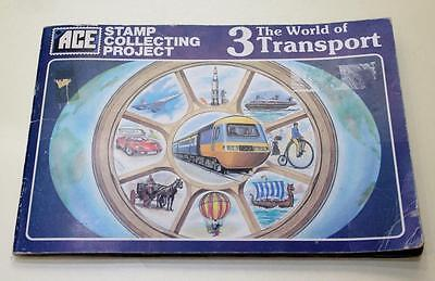 Ace Album World Of Transport 3 Full Of Stamps Related To Transort See #2708++++
