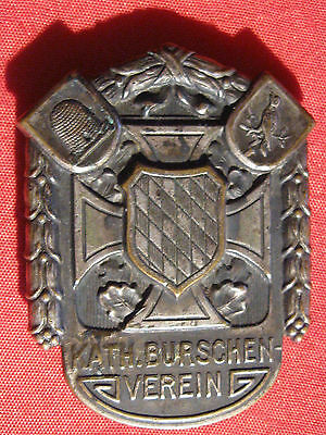 Old German  Patriotic Pin    Bavaria  State