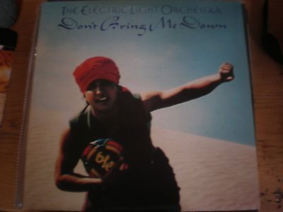 """E L O - Don't Bring Me Down ,   Picture Sleeve 12"""" Single"""