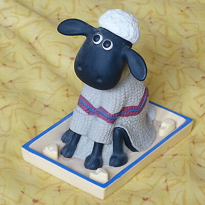 Wallace & Gromit Nodding Shaun The Sheep In Cheese Dish