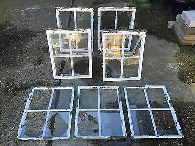 7x Vintage Crittall Windows Reclaimed Salvage Metal Amazing Space Industrial Era