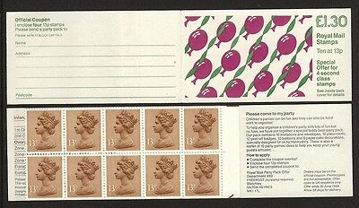 GB Stamps: Decimal Machin Folded Booklet FL14B.