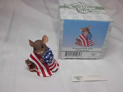 "Charming Tails Fitz & Floyd ""Wrapped with Pride""  89/139 NIB"
