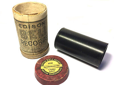 Edison Bell  -  2 min Phonograph Cylinder  ~ My Little Wooden Hut - S Kirkby