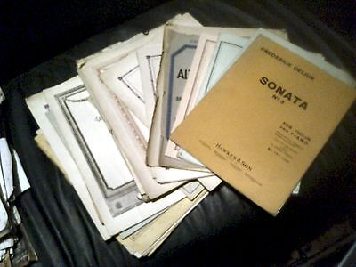 SHEET MUSIC FOR VIOLA AND PIANO COllECTION OF 24 ITEMS LIONEL TERTIS ETC.