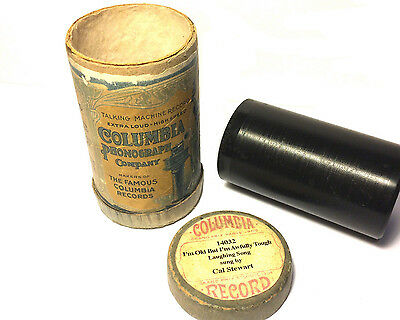 Columbia  -  2 min Phonograph Cylinder  Laughing Song - Cal Stewart