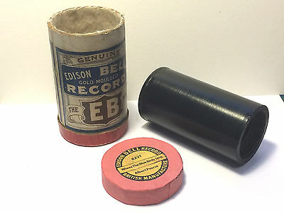 Edison - Bell 2 minute Phonograph Cylinder Record ~ Popular song ~ Albert Pearce