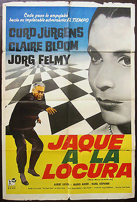 Brainwashed 1960 Three Moves To Freedom Claire Bloom Curt Jurgens Argentinian