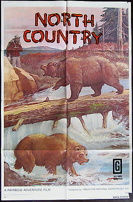 North Country 1972 Original US One Sheet Poster