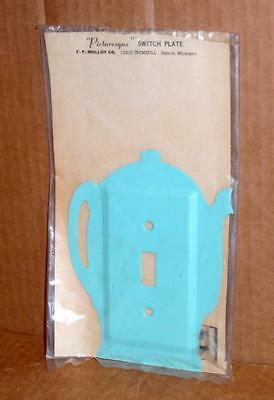 Vtg Light Switch Wall Plate Decorative Metal Wall Light Switch Cover Plate #4