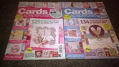 simply cards & papercraft magazine duo