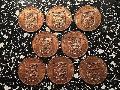 1966 Jersey 1/12 Shilling (8 Available) Beautiful UNC Examples (1 Coin Only)