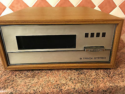8 Track Home Cartridge Player,British Made,Good Condition,Use With Hi-fi System