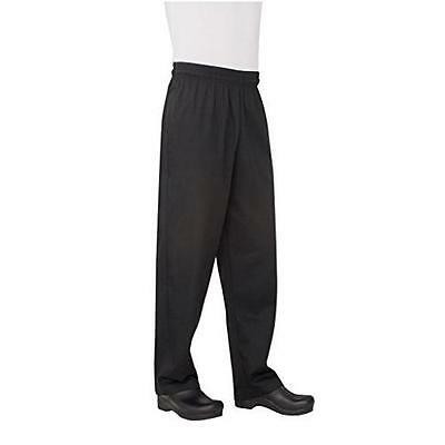 Chef Works Men's Essential Baggy Chef Pant (NBBP) New