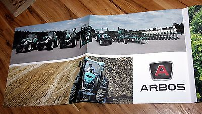 Rare Arbos full line tractor drill brochure poster (new Italian Chinese range)