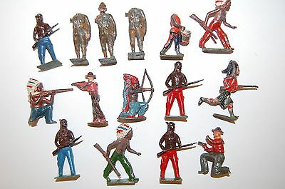 Job Lot Of Vintage Britains & Other Makers Lead Soldiers               P1