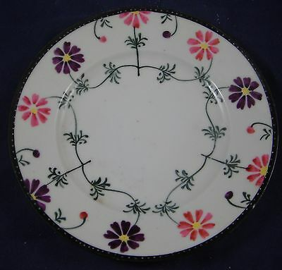 Vintage Te-Oh Nippon Porcelain Handpainted Floral Plate - Age Unknown