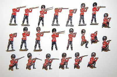 Job Lot Of 22 Pre War Britains Lead Guard Soldiers