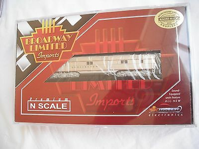Broadway Limited 3225 EMD E7 A, CB&Q 9919B, Diesel Locomotive Engine, N Scale