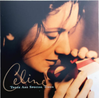 """CELINE DION Display These Are Special Times UK BROMIDE 11"""" x 11"""" PROMO In-Store"""