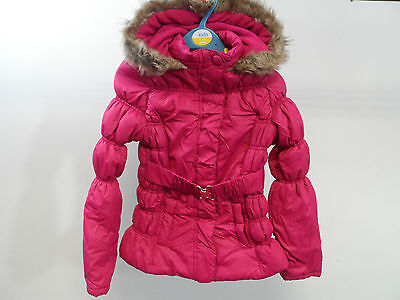 M&co Magenta Coat Size Age 9 - 10 Years Brand New Box8256 F