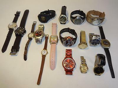 Old Mixed Watches Watch For  Batteries, Parts And/or Repair