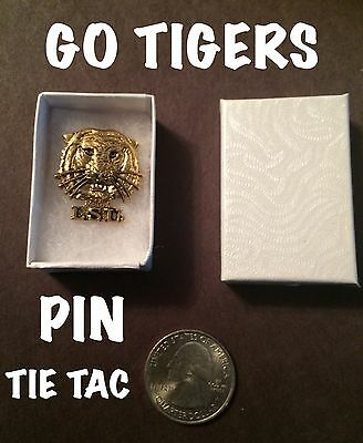 Lsu  Tigers  Lapel  Pin / Tie Tac   Wow!!   Ncaa Lsu1