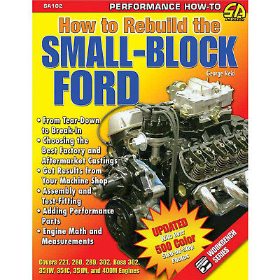 S-A BOOKS SA102 How To Rebuild The Small Block Ford