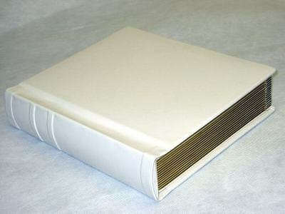 Professional 8x10 ivory Gold edged Wedding / Parent Photo Album - 20 Photos
