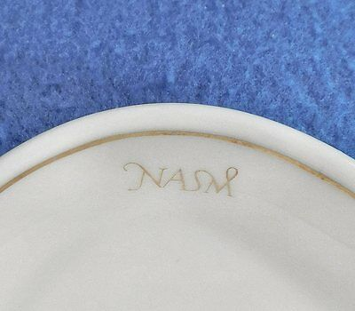 "Two  HOLLAND  AMERICA   LINE   "" NASM ""  TEARDROP  RELISH  TRAYS  Made  by  MOSA"