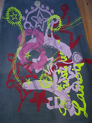 BNWT CHRISTIAN LACROIX Graphic Print Young Girl's Skirt age 8yrs