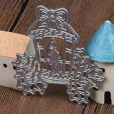 Christmas Candle Design Metal Die Cutting Dies For DIY Scrapbooking Photo Card